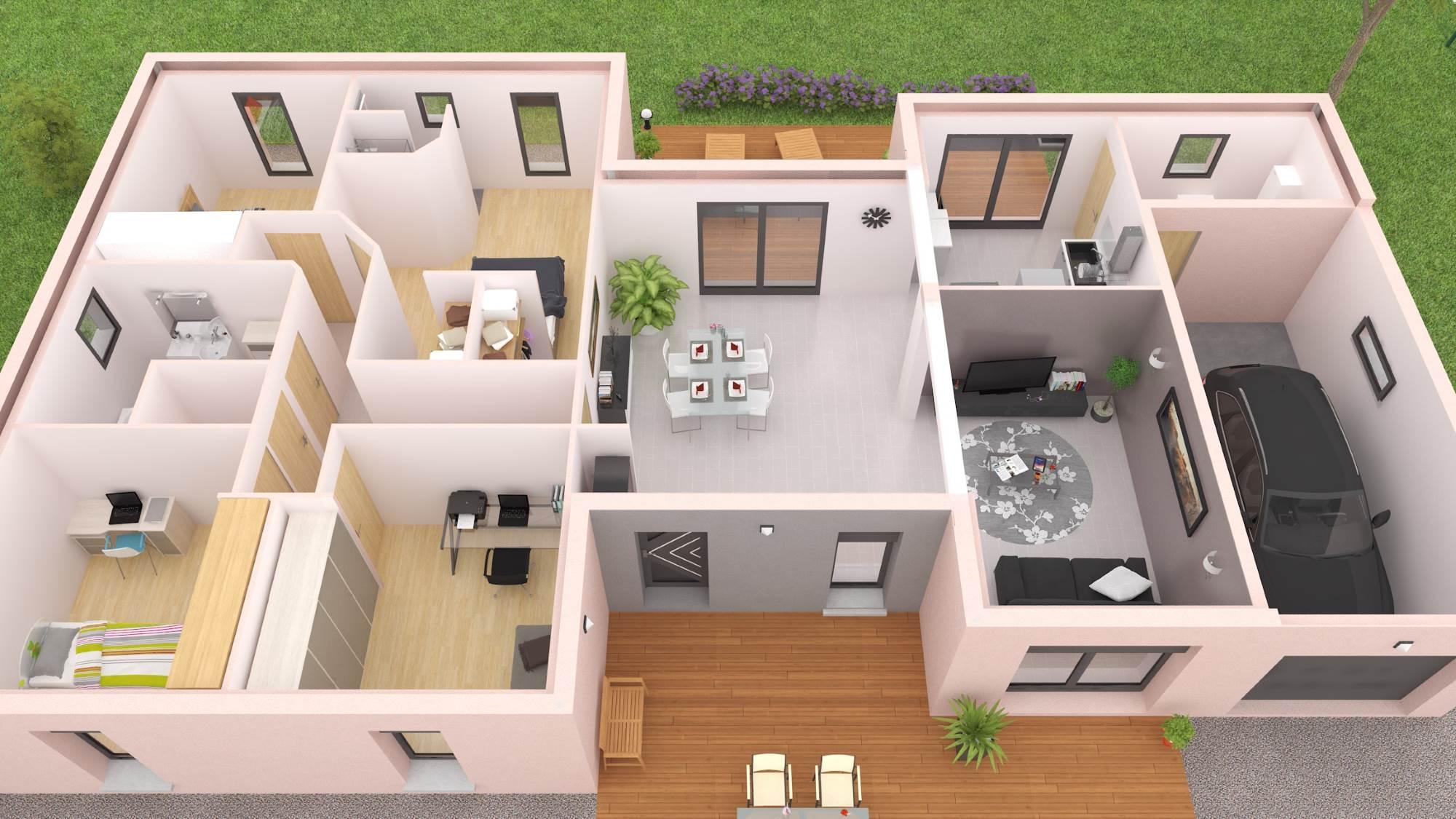 110 Idees De Maisons Plain Pied En 2021 Maison